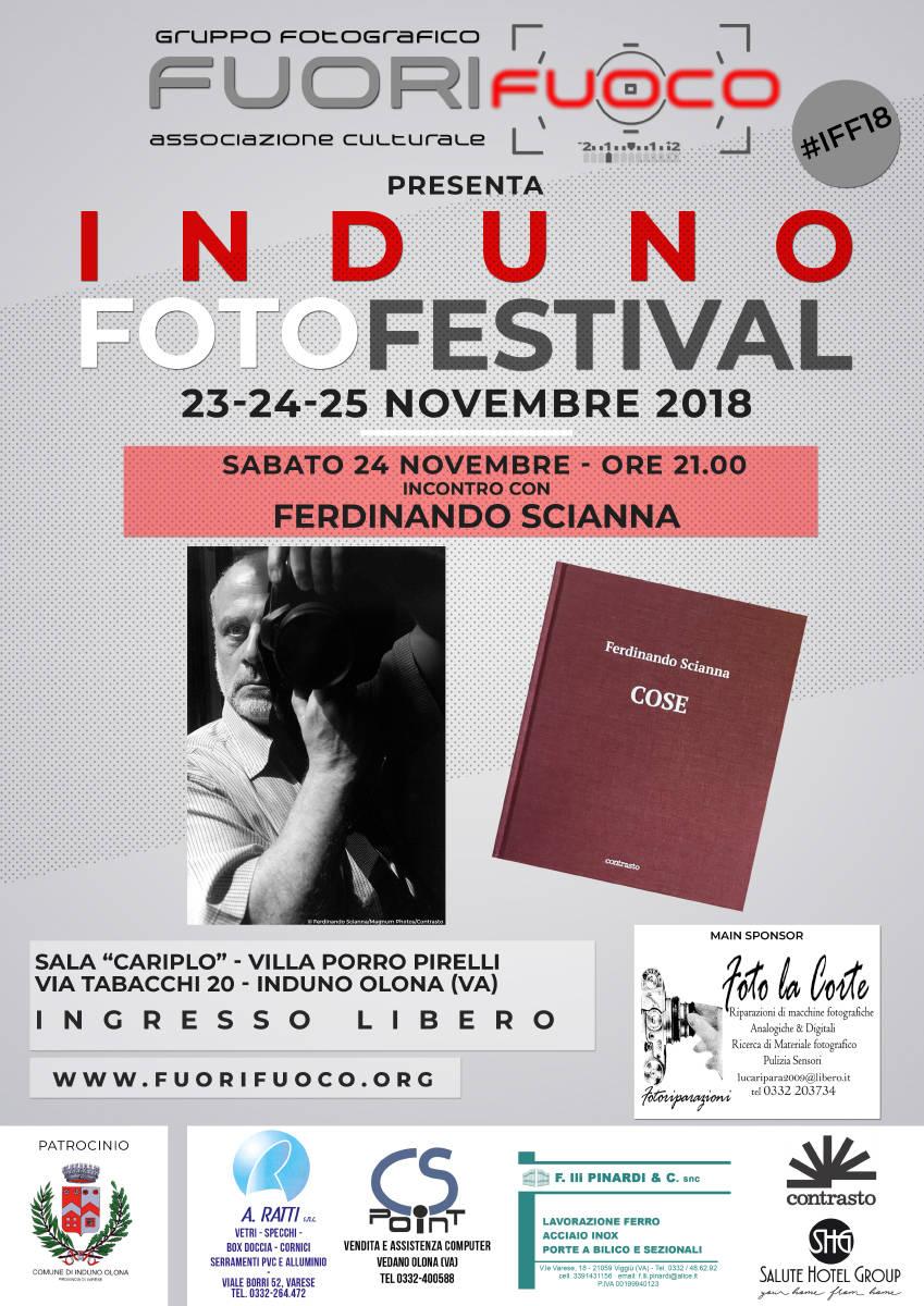 FERDINANDO SCIANNA - ospite ad Induno Foto Festival