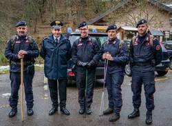 Monteviasco isolata, vegliano i carabinieri