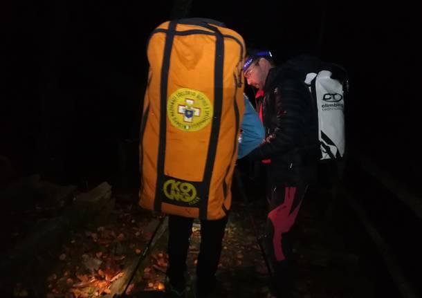 Il soccorso alpino installa una base operativa a Monteviasco