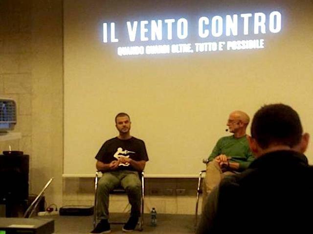 """Daniele Cassioli presenta \""""Il Vento Contro\"""""""