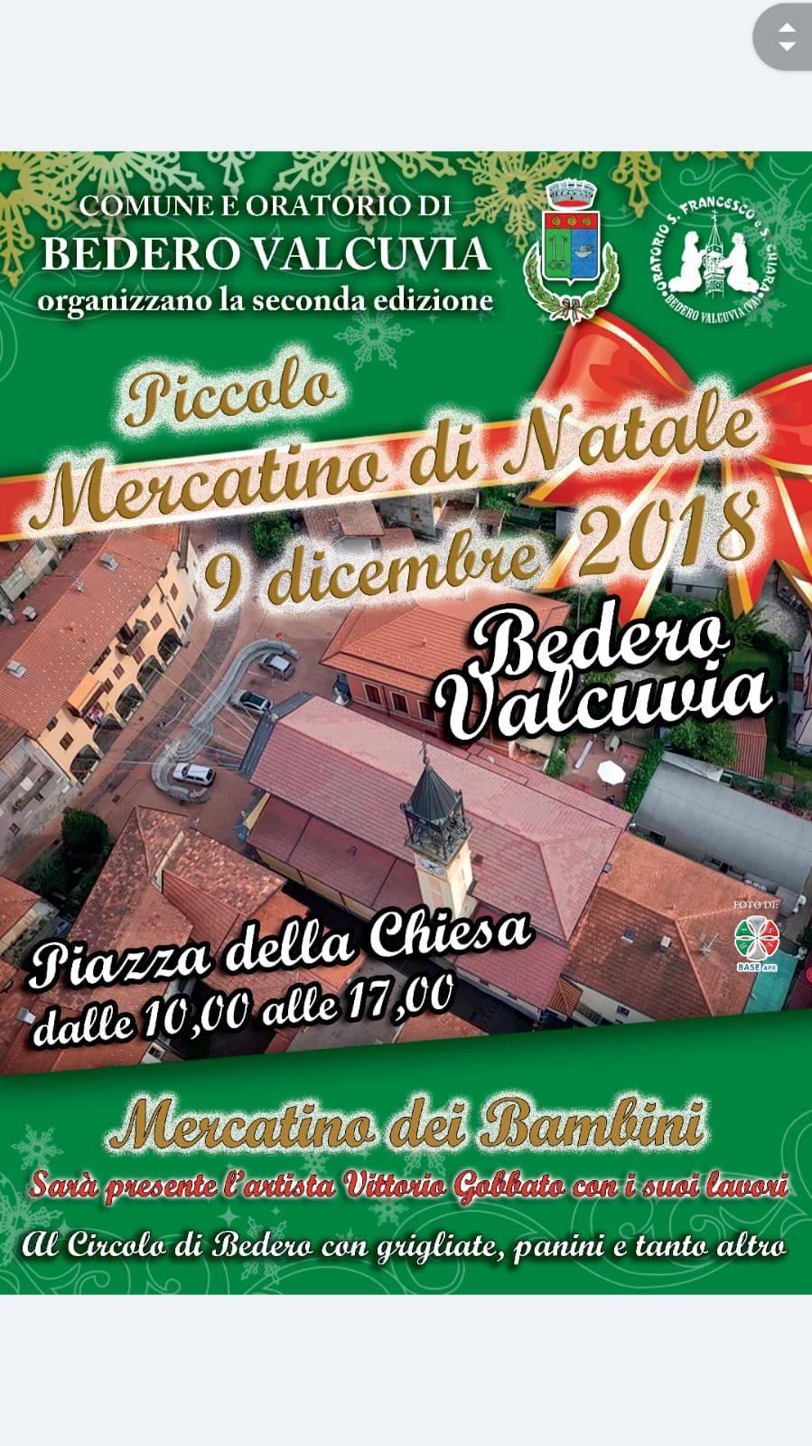 Mercatino di Natale a Bedero Valcuvia
