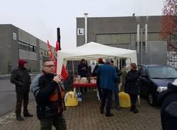 Industriale chimica: sciopero con presidio