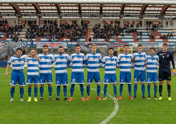 Pro Patria - Pontedera 1-0
