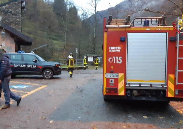L'incidente mortale di Curiglia