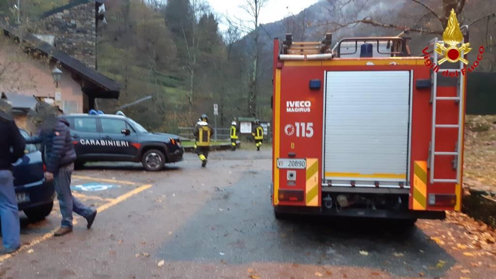 L\'incidente mortale di Curiglia