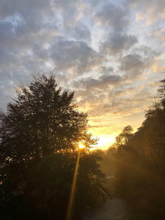 Quando il sole si volta indietro......