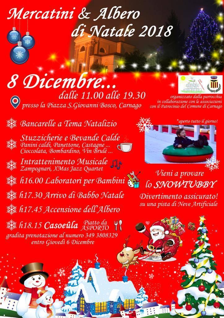 Mercatini & Albero di Natale 2018