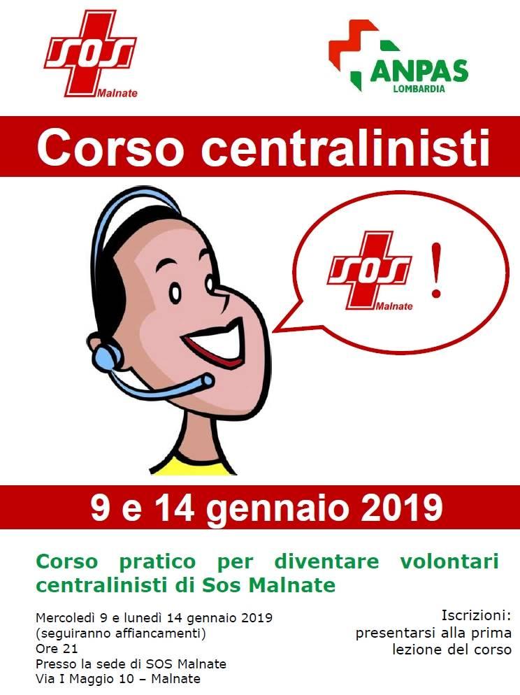 Corso per volontari centralinisti
