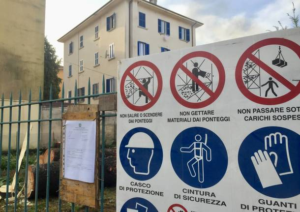 Del Ponte: cominciati i primi lavori per il parcheggio multipiano