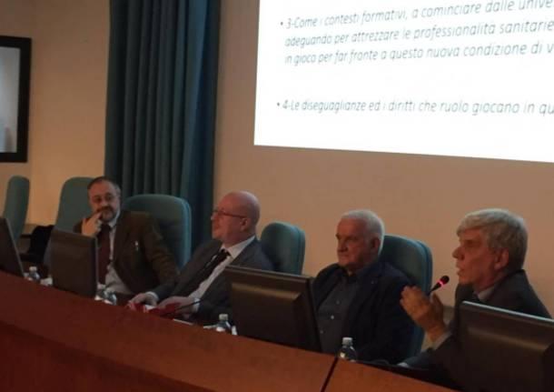Convegno su longevità e salute della Fondazione Piatti e Università dell'Insubria