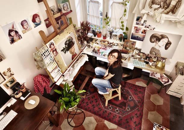 Nuova mostra personale della pittrice Claudia Giraudo alla Galleria PUNTO SULL'ARTE