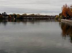 fiume ticino sesto calende novembre 2018 maltempo