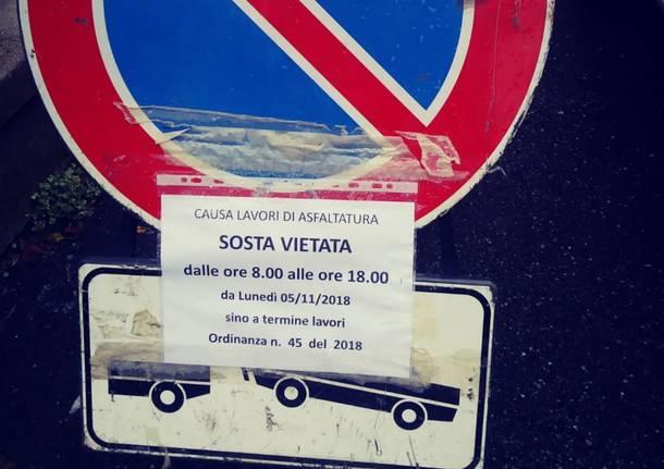 lavori gazzada via italia libera