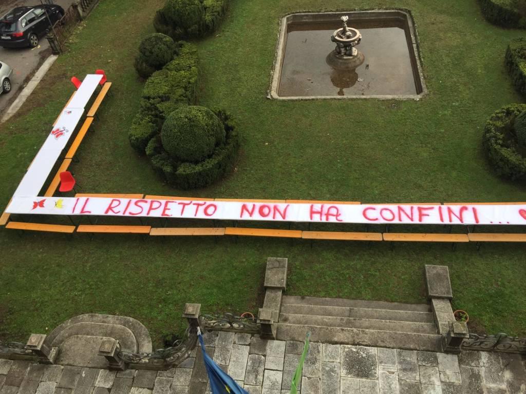 """I ragazzi della scuola """"Villa Valerio"""" dicono no alla violenza sulle donne"""