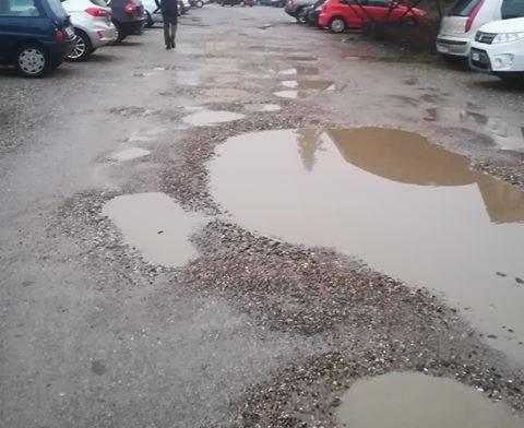 Il parcheggio di Gazzada Schianno