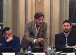 Il ritorno di Galparoli in consiglio Comunale a Varese