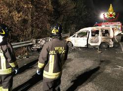 Incidente mortale a Gemonio
