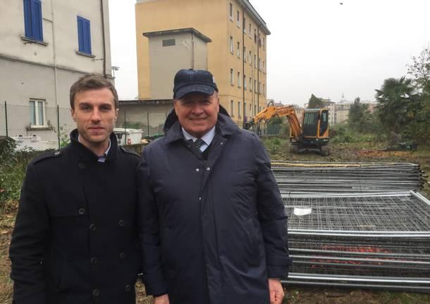 Iniziano i lavori al parcheggio dell'ospedale del Ponte