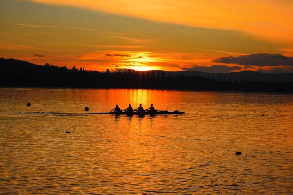 Lago di Varese al tramonto - foto di Valerio Franchi