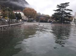 Laveno Mombello, il lago il 6 novembre
