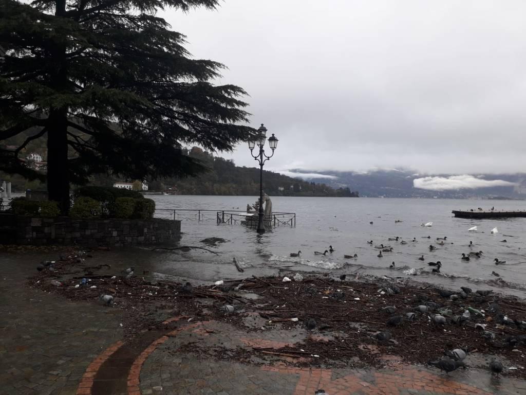 Laveno Mombello, le foto del lago 7 novembre