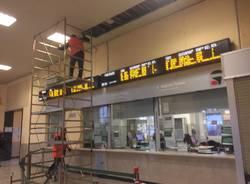 Lavori stazione Varese Fs novembre 2018
