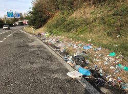Malpensa: immondizia nelle aree di sosta