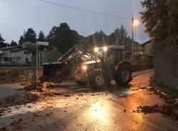 Maltempo: danni a Velate