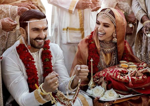 Ranveer Singh e Deepika Padukone hanno detto sì sul Lago di Como