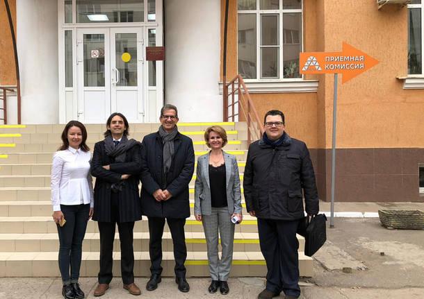 Missione in Astrakhan per Confartigianato e Faberlab