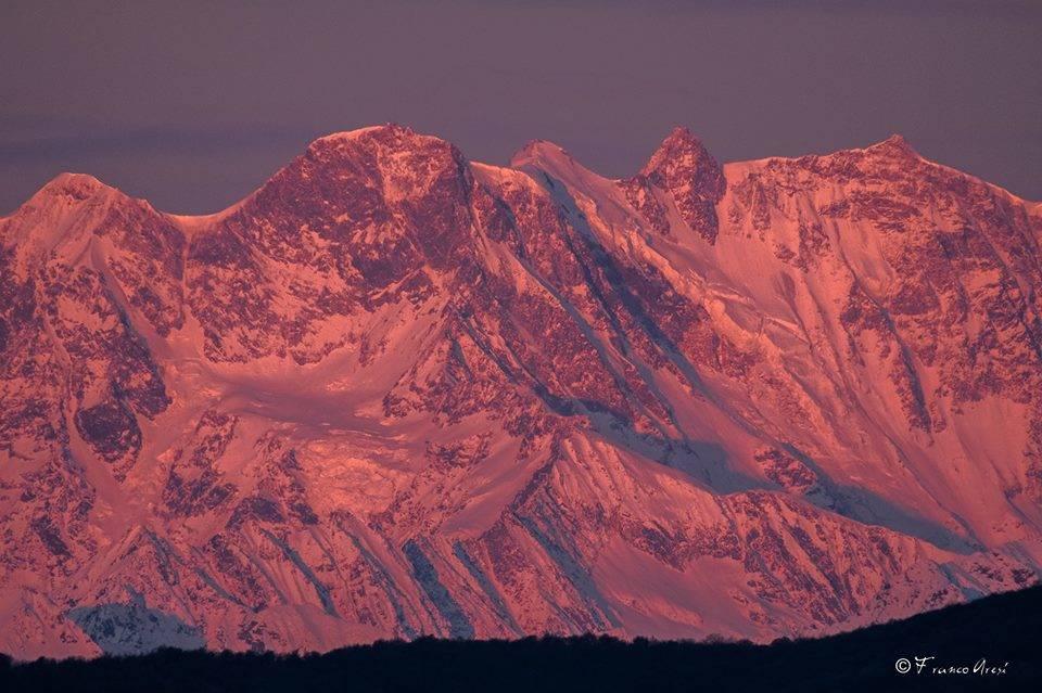Monte Rosa - foto di Franco Aresi