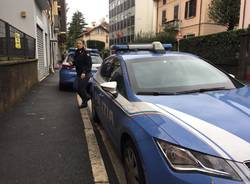 Polizia in via Nino Bixio