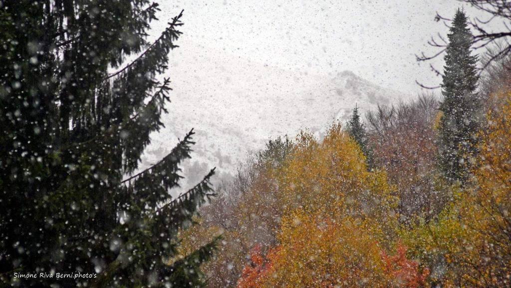 Prima neve 2018 in Forcora - foto di Simone Riva Berni