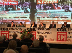 Varese - Tavola rotonda al congresso dello Spi Cgil