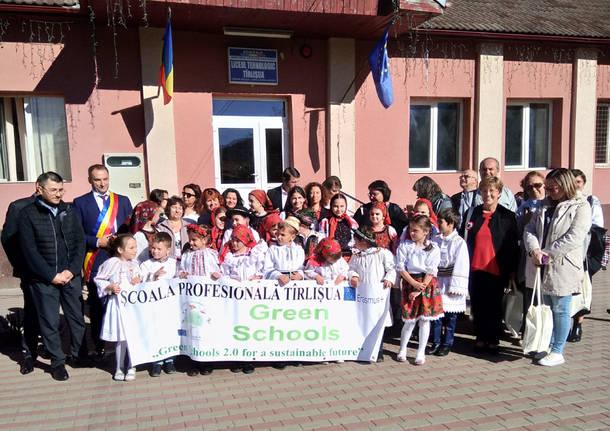 Vedano Olona - Il Progetto green school erasmus+ in Romania