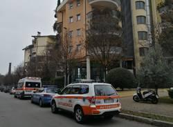 ambulanza automedica polizia via ponchielli busto arsizio
