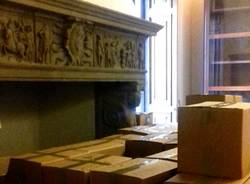 archivio centro studi archeologici negli scatoloni