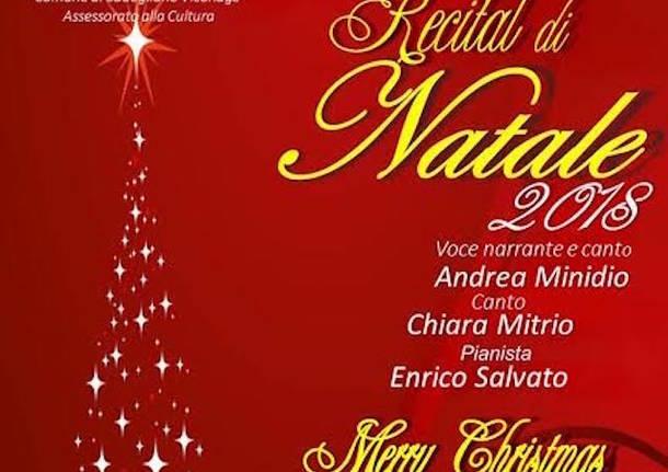 Auguri I Di Natale.Gli Auguri Di Natale In Un Recital