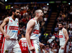 AX Milano – Openjobmetis: finale 72-67