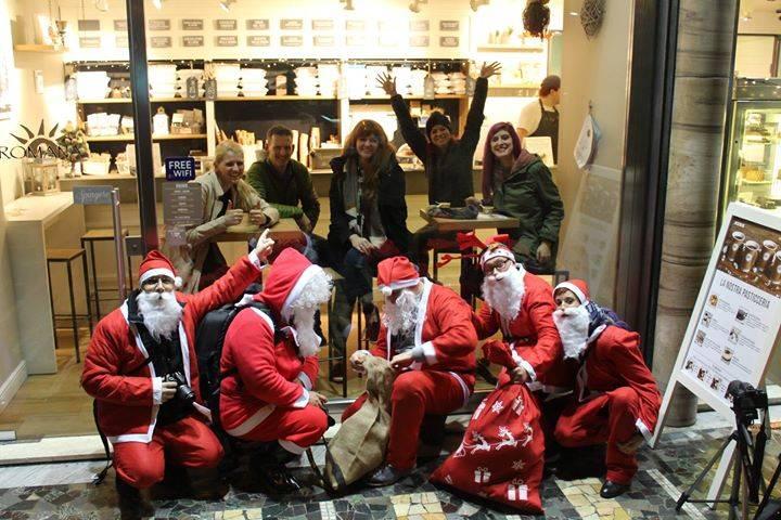 Babbi Natale a Varese