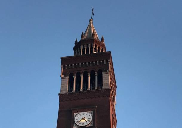 campanile chiesa san giulio castellanza