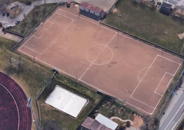 campo di calcio calcinate degli orrigoni