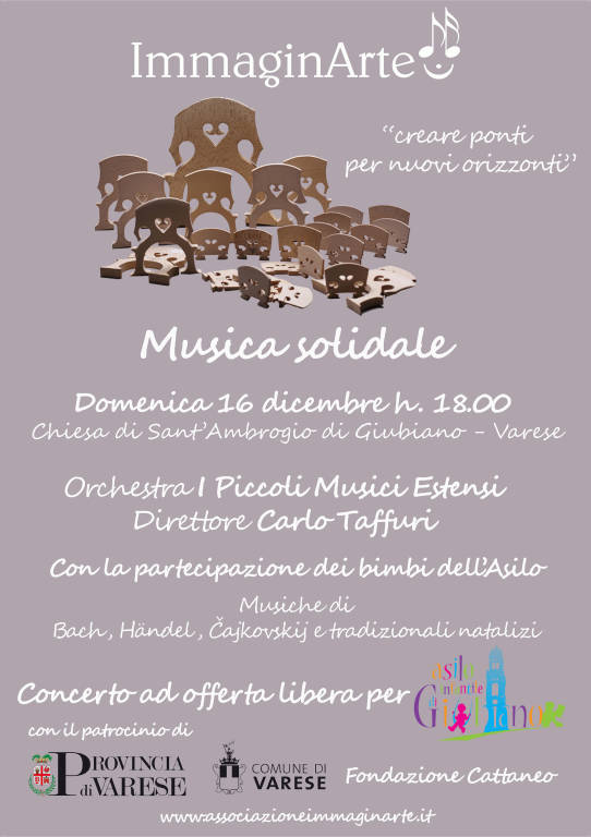 Musica Solidale a Giubiano (Varese)