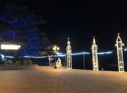 I campanili illuminati di Laveno Mombello