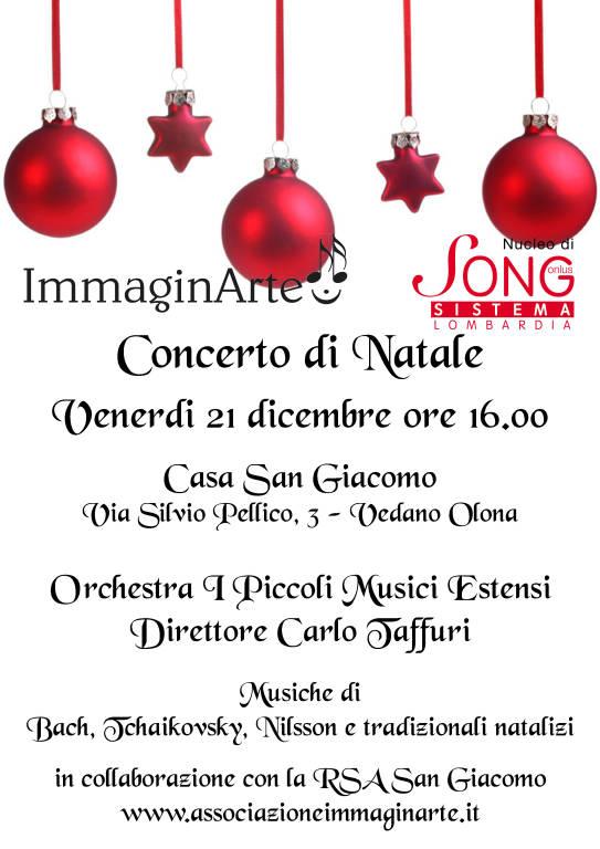 Concerto di Natale alla Casa San Giacomo di Vedano Olona