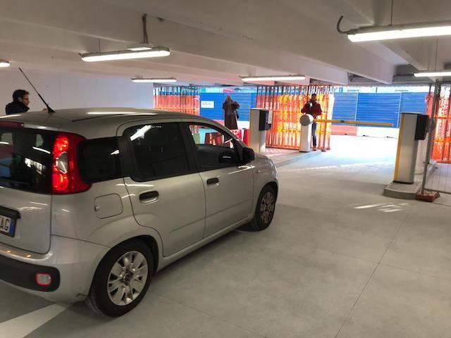 Apertura parcheggio Sempione
