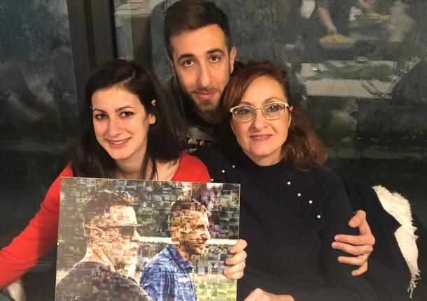 Saronno ricorda Davide Greco ad un anno dall\'incidente fatale