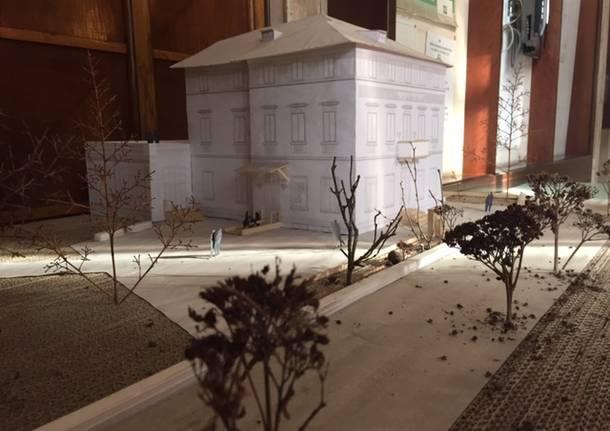 """Il plastico del \""""nuovo\"""" Palazzo Verbania"""