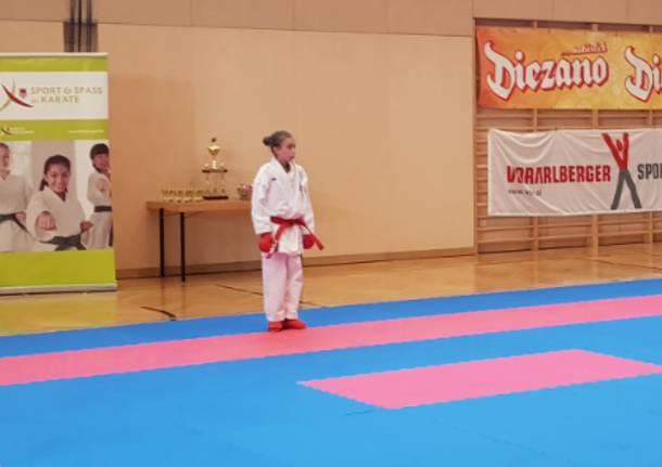 Karate: altro oro per la saronnese Alessandra Bossi