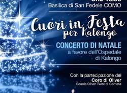 """""""CUORI IN FESTA"""". CONCERTO DI NATALE PER KALONGO"""